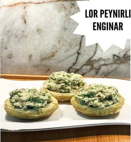 Lor Peynirli Enginar