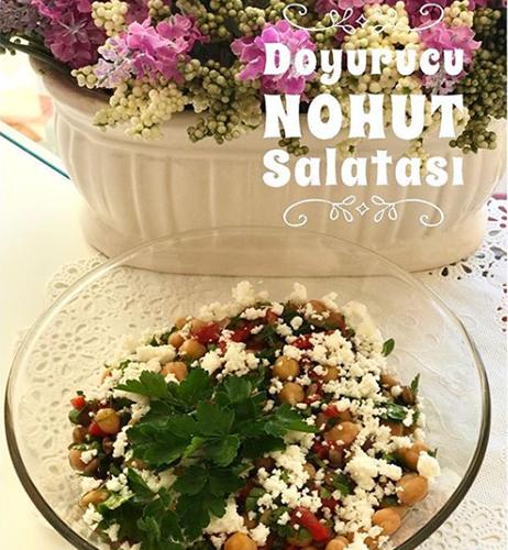 Doyurucu Nohut Salatası